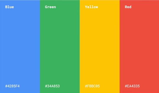 Googles visual brand